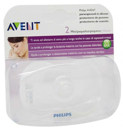 Avent teat cup Silicone Mini 15 mm