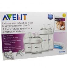 Avent Set recém-nascido biberon natural