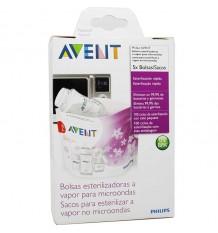 Avent Sacs De Stérilisation Micro-Ondes