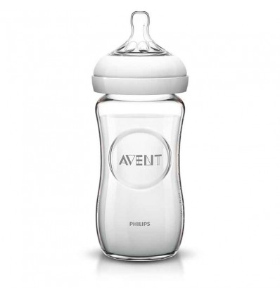 Biberon Avent Natural Cristal 260 ml