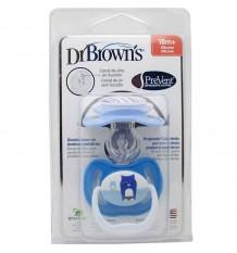 Dr Browns Sucette Empêcher de 18 mois, bleu