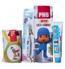 Phb petit escova pack do pocoyo