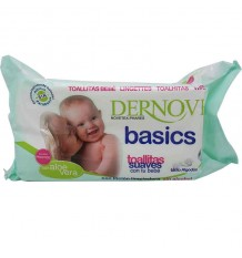 Dernove wipes the baby