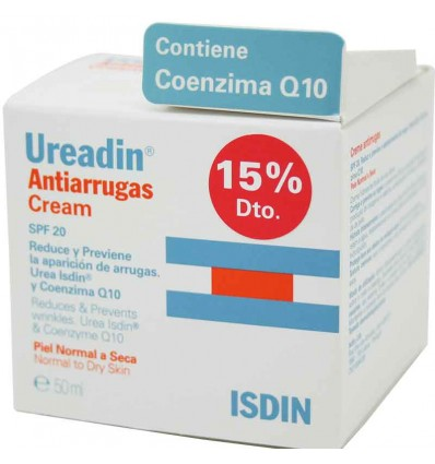 Ureadin antiarrugas crema factor 20 50 ml