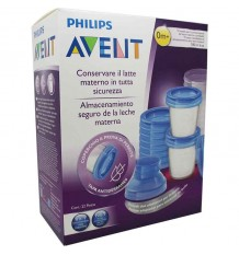 avent via milk containers 20 units