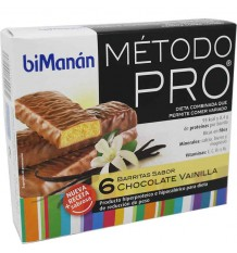 bimanan pro barrita chocolate vainilla