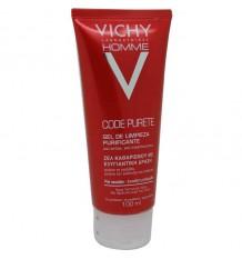 Vichy Homme Code Purete Limpiador 100 ml