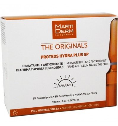 Martiderm Proteos Hydra Plus Sp 10 Ampollas