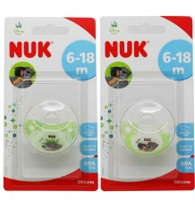 Nuk Pacifier jungle Book Silicone 6-18 months