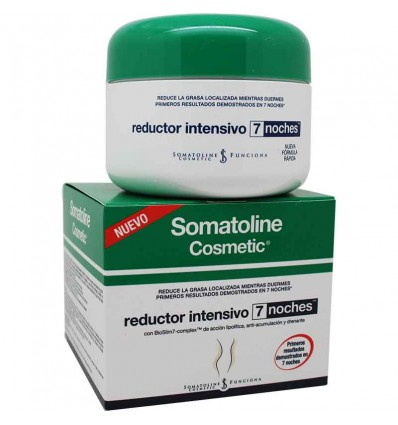 Somatoline reductor intensivo noche 7 dias 250 ml