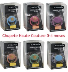 Suavinex Haute Couture Pacifier Silicone 0-4 months