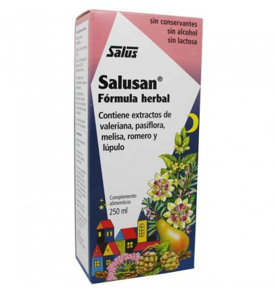 Salusan 250 ml syrup of rest