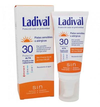 Ladival Protector Solar 30 Pieles sensibles Alergicas Color 50 ml