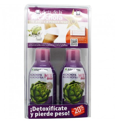 Arkofluido Alcachofa Mix Detox Duplo Pack
