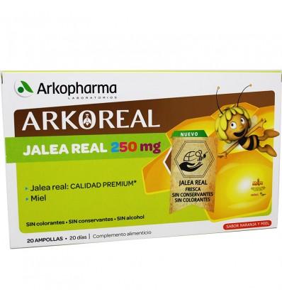 Arkoreal Jalea Real 250 mg 20 Ampollas