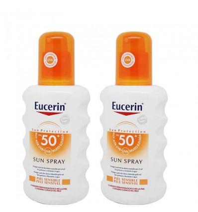 Eucerin Solar 50 Spray 200 ml Duplo Promocion