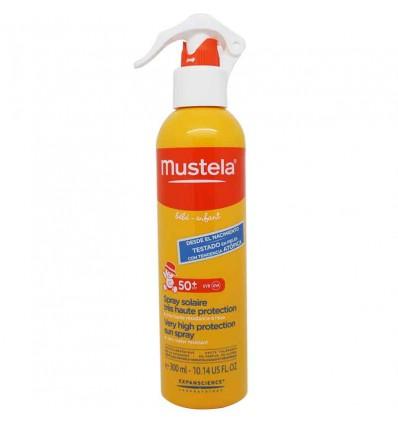 Mustela Solar Spray Solar 50 Bebe 300 ml