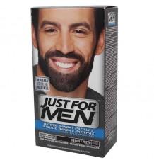 Juste pour les Hommes de Barbe Noir M 55