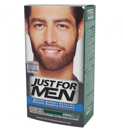 Just for Men Barba Moreno M 45