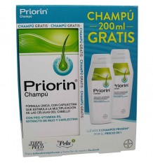 Priorin Champu 200 ml duplo
