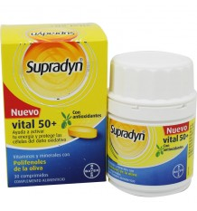 Supradyn Vital 50 Antiox 30 comprimés