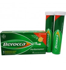Berocca Performance Naranja 30 comprimidos efervescentes