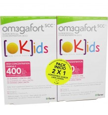 Omegafort kids 30 Gomas de Limon