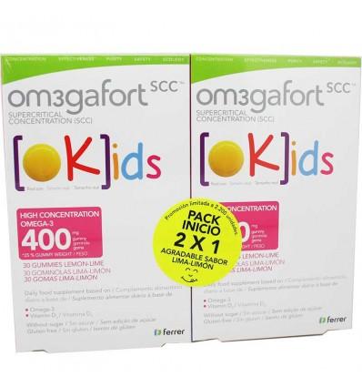Omegafort kids 30 Gomas de Limon