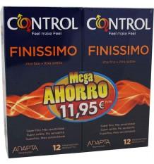 Preservativos Controle Finissimo Duplo Promoção