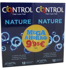Control Preservativos Nature 12+12 Duplo Promocion