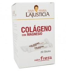 Ana Maria Lajusticia Colageno com Magnésio Sticks Morango