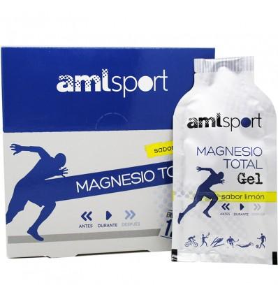 Amlsport Magnesio Total Gel 12 Sobres