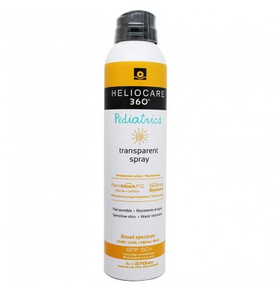 Heliocare 360 Pediatrics Spray, transparent, 200 ml