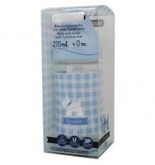 Suavinex Biberon Latex Azul 3 Posiciones 270 ml