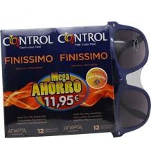 Preservativos Control Finissimo 12 unidades Duplo Regalo Gafas
