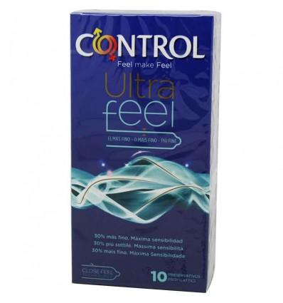 Les préservatifs Contrôle Ultrafeel 10 unités