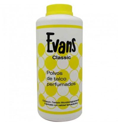 Evans Classique de la Poudre de Talc 300 grammes