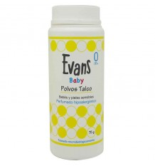 Evans Baby Talcum Powder 75 grams