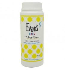 Evans Bébé de la Poudre de Talc 75 grammes