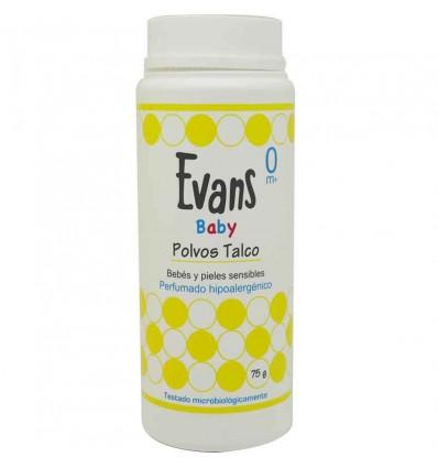 Evans Baby Polvos de Talco 75 gramos