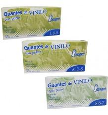 Beholi Gants Vinyle Poudre Boîte De 100 Unités
