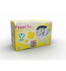 freelife Bébé de Trésorerie de Couches nouveau-né 2-4 Kg 28 unités