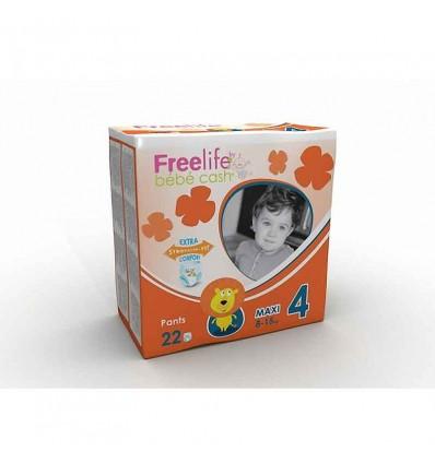 Freelife Cash-Baby Pants Größe 4 8-15 kg 22 Einheiten