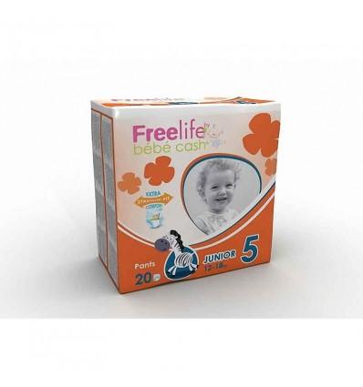 Freelife Bebe Cash Pants Tamanho 5 12-18 kg 20 unidades