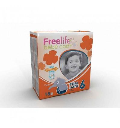 Freelife Bebe Cash Pants Tamanho 6 +17 kg 18 unidades