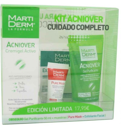 Martiderm Acniover Full Kit