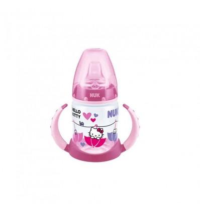 Nuk Biberon Entrena Hello Kitty 150 ml rosa