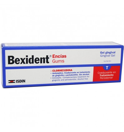 Bexident Encias Clorhexidina Gel Gingival 50 ml