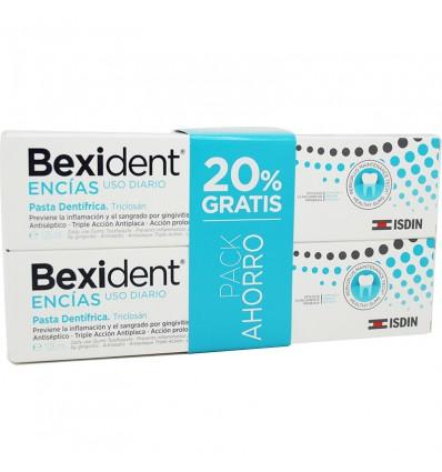 Bexident Encias Triclosan Pasta Pack Ahorro Duplo 250 ml