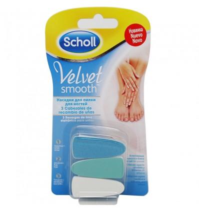 Dr Scholl Velvet Spares Lima Electronica Nails 3 Units